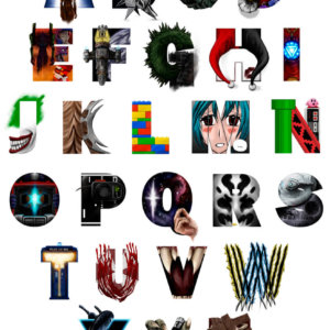 Geek's Alphabet by Michael Cunliffe
