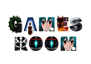Games Room spelled in geek letters
